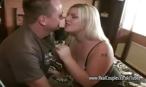 Compilation of blondes at real couples