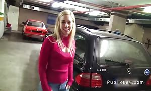 busty blond