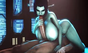 animated comic 3D huge boobies Soria soft pounded