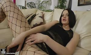 black-haired escort will get